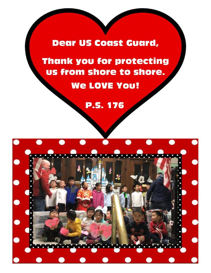 Food donation for Thanking US Coast Guard
