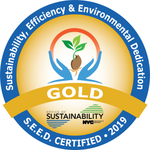 Icon of award of office of Sustainability