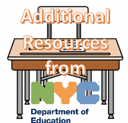 NYC DOE Additional resources Student desk