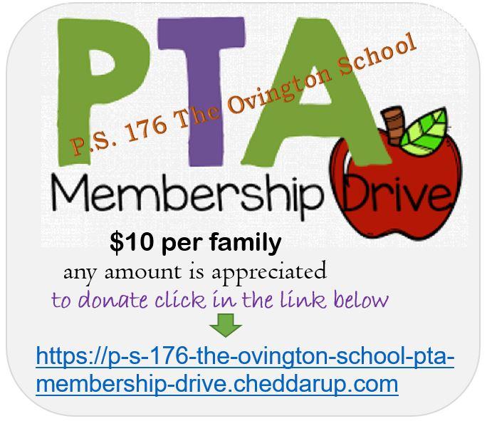 PS 176 PTA  Membership Drive