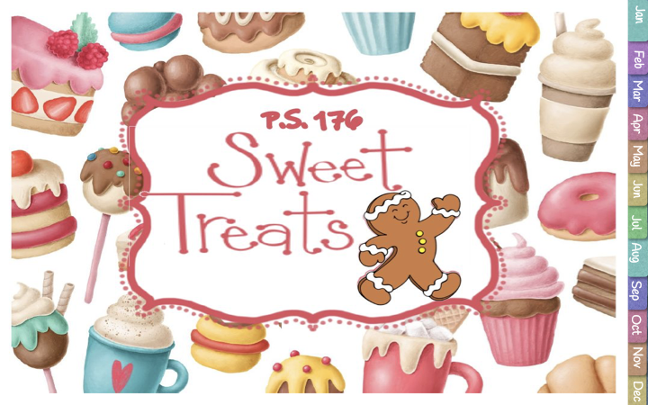 P.S. 176 Sweet Treat Calendar